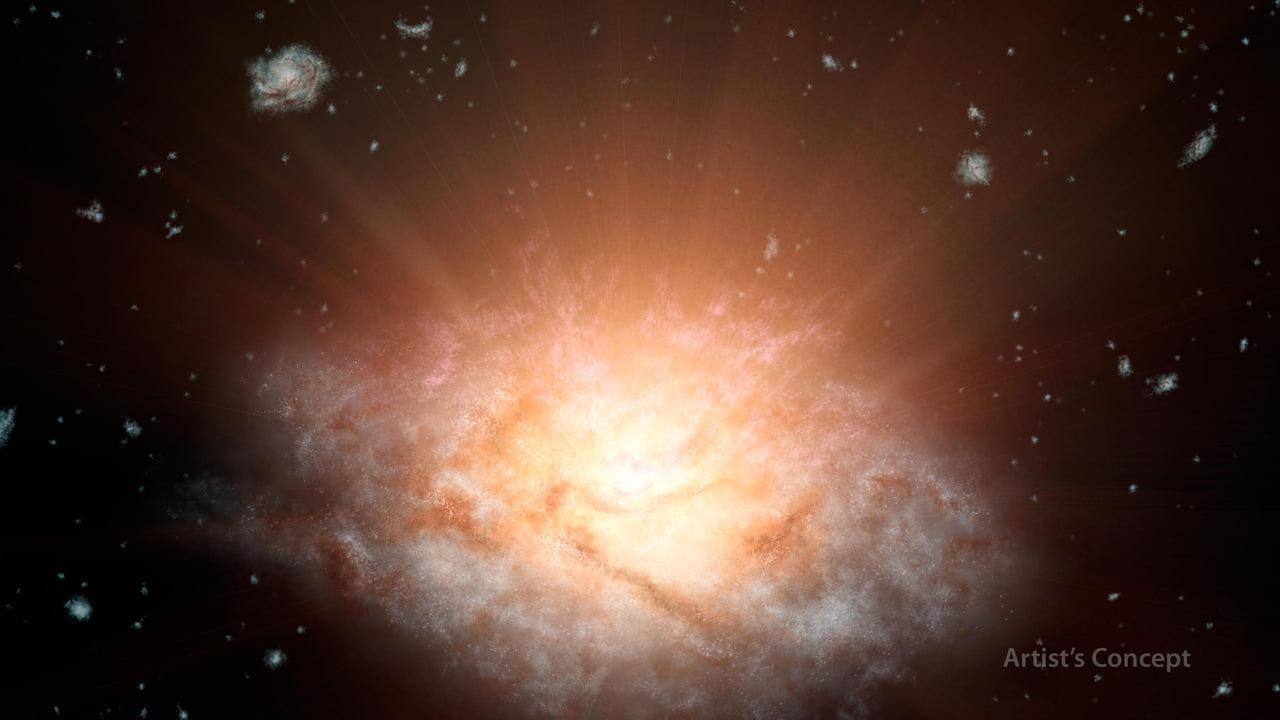 brightest galaxy unineverse