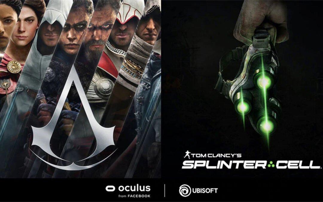 H Ubisoft ανακοίνωσε ότι το Assassin's Creed & το Spilnter Cell έρχονται στο VR