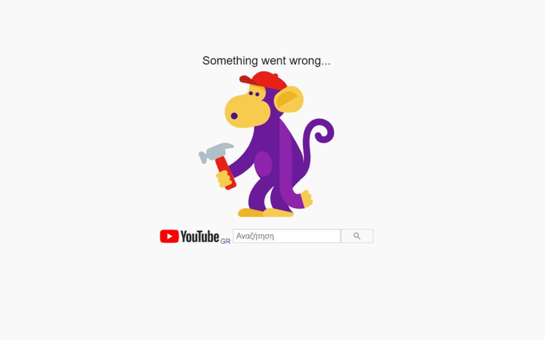 Έπεσαν τα Google Services & Youtube