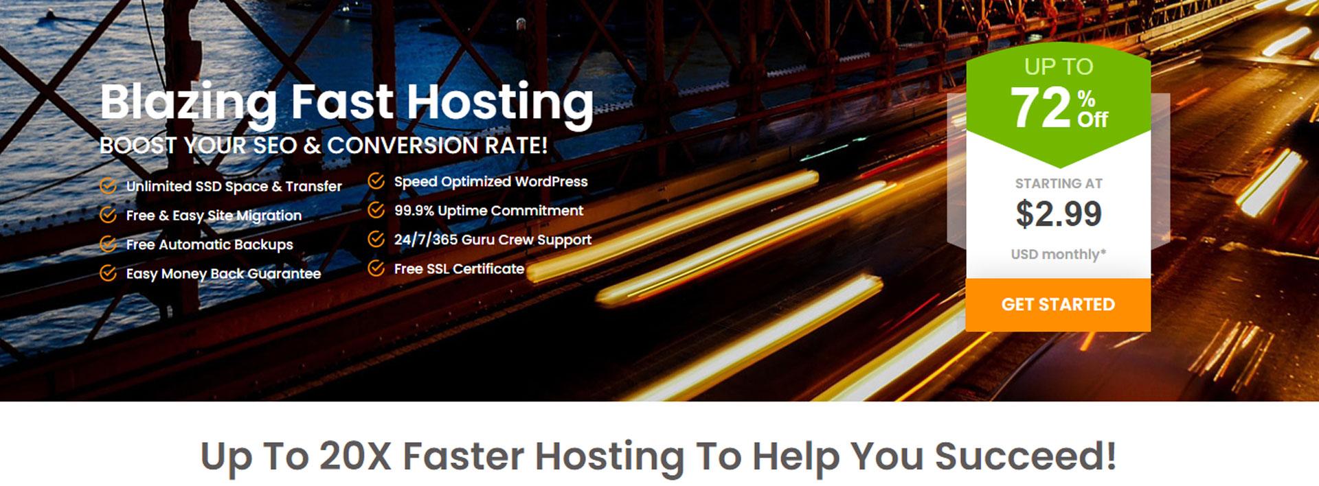 a2hosting best web hosting